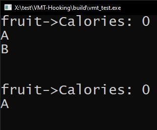 VMT function calling